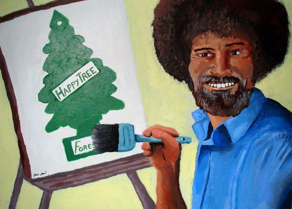 Painting by Jesse Jones