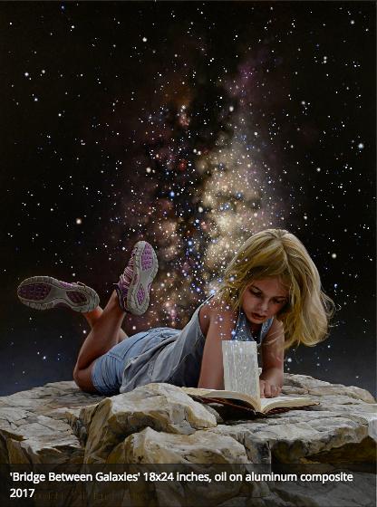 Painting by Bryan Larsen