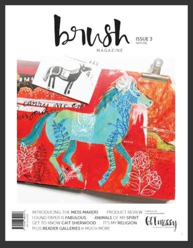 Margot's work was recently featured in Brush Magazine, Issue 3 2018.