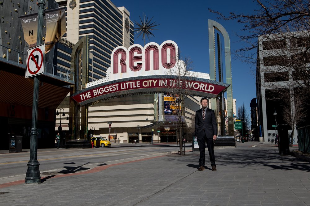 The Reno Arch Downtown Reno