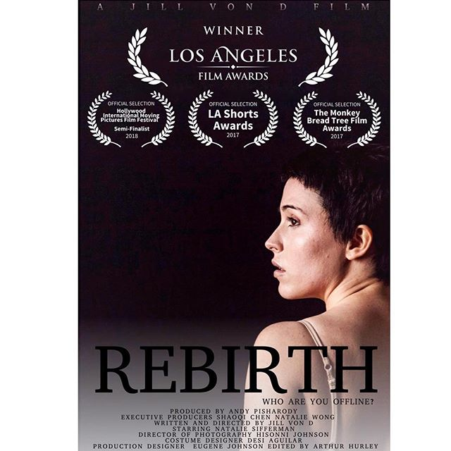 So excited to announce Rebirth has won the Best Experimental Short award at the Los Angeles Film Awards 2017! Truly from the bottom of our hearts, this applaud goes to the cast and crew.  We are beyond ecstatic and thank everyone for all the support we've received since the beginning. June has been an exciting month, more to come! 🎥🎬 #losangelesfilmawards #lafa #himpff #mbtfa