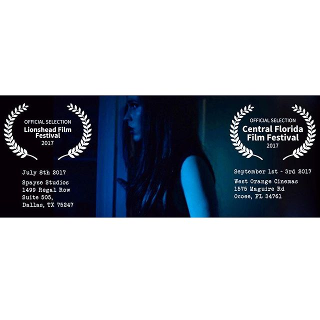 So excited to announce that Rebirth has been accepted into the Lionshead Film Festival of Dallas, Texas and the Central Florida Film Festival in Ocoee, Florida! 🇺🇸🎟 If you are interested in attending either festival, please contact us for more details on how to get tickets as well as other information. We hope to see you there! Thank you everyone for all the support! #Lionshead #TX #CENFLO #FL 🎥🎬