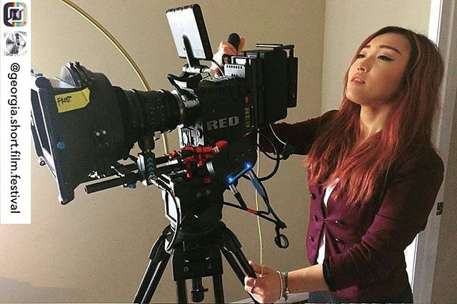 """Honored for our director Jill Von D!  #Repost from @georgia.short.film.festival 。。。 Director Spotlight - Jill C. 🎥  Director of """"Rebirth"""" Jill is a 22 year old filmmaker born and raised in Hong Kong, who at the age of 10 began her ever-growing passion and involvement with film.  Being a painter since birth, her love for the visual arts soon translated onto her first camera, in which still images began her voice of storytelling. It was shortly after that she discovered her ability to render marriage between these images and audio elements that her love for filmmaking and motion pictures began.  After moving to the United States by herself at 18, she took on every filmmaking and photography society at the University of Texas at Austin as well as interning at South by Southwest Music and Film Festival where her first screening of short films there made her fall in love with the film festival scene. Visual creation is her biggest passion and language in this world, as she continues to strive in filmmaking after relocating to Los Angeles last year."""