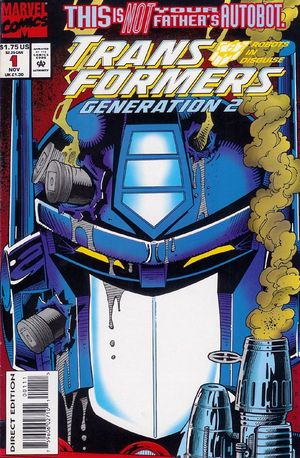 Transformers Generation 2 - Cover by Derek Yaniger