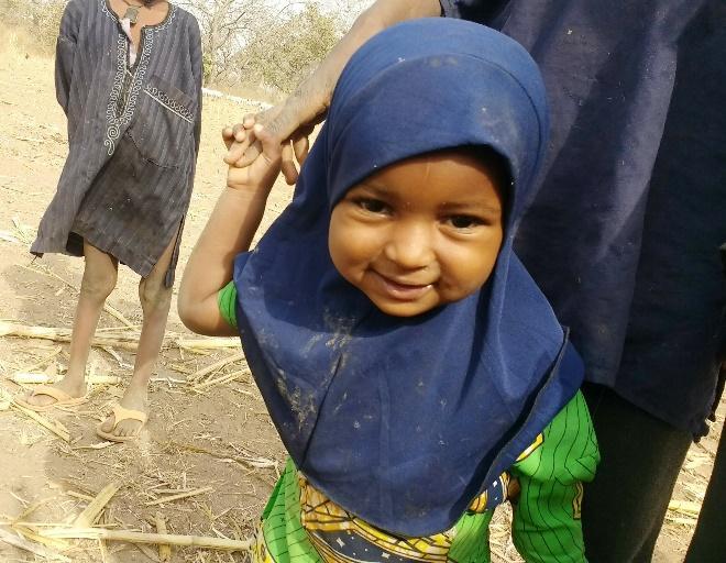 Adorable Fulani baby girl! Everyone's favorite!
