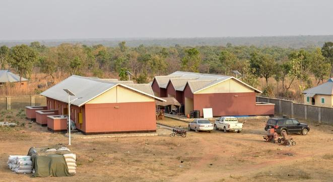 This is Wuro Nyako Learning Center, where we stayed. Very secure and comfortable, with solar electricity thrown in!