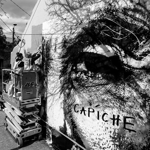 CAPICHE STREET ART PASTE-UPS