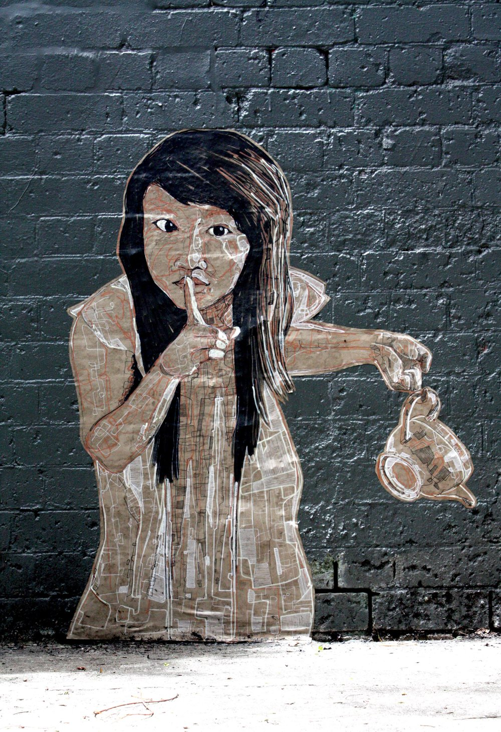 MARTIN CLAYDON / MR SWEET   FINE ART / STREET ART