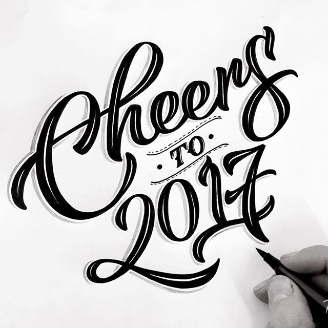 Cheers to 2017! Plenty in store for 2018 though! What are your plans? 🤔🤔 Art by @cheekyobserver ⠀ .⠀ .⠀ .⠀ .⠀ .⠀ #art #australia #illustration #graphic #dailyart #drawing #painting #instaart #sketch #artgallery #pencilart #artistic #artist #artsy #instaartist #talent #fostered #creative #design #bright #mural #commission #street #murals #artwork