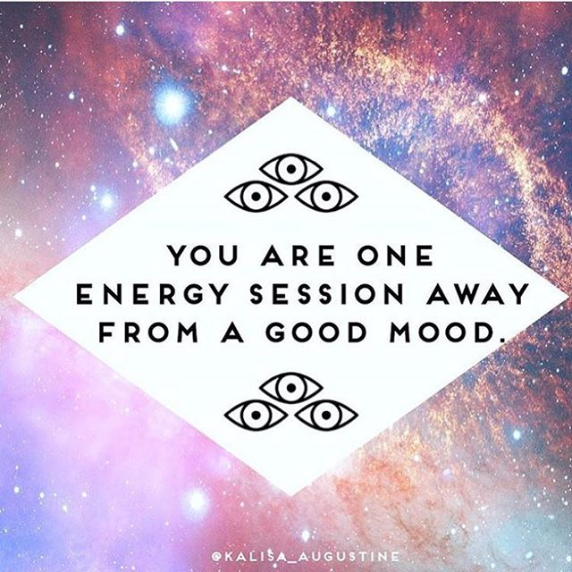 Certainly this. Everything is energy. Release the weight, change your entire perception.  Via @kalisa_augustine