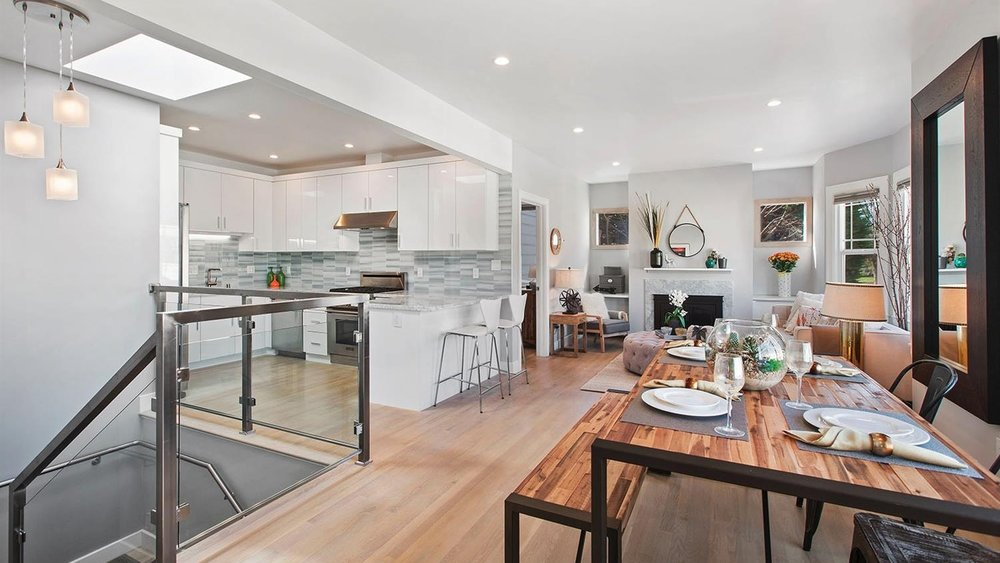 Modern Stunner! | 67 Arago Street |Mission Terrace | SF - 4 Bed | 4 Bath | 1816SFSOLD for $1,295,000 | Buyer RepresentationOverlooking Balboa Park, this sleek and modern fully detached home displays fine craftsmanship. With 4 Bedrooms and 3 Baths, the home features 3 master suites, with the main Master overlooking a fabulous oasis garden. Polished and beautifully designed, this is a 'Smart Home' with white oak floors, an open floor plan, high ceilings and tons of natural light. The Chef's kitchen is on the main level boasting high-end finishes. Bonus...a wine cellar on the entry level. Close walk to BART!