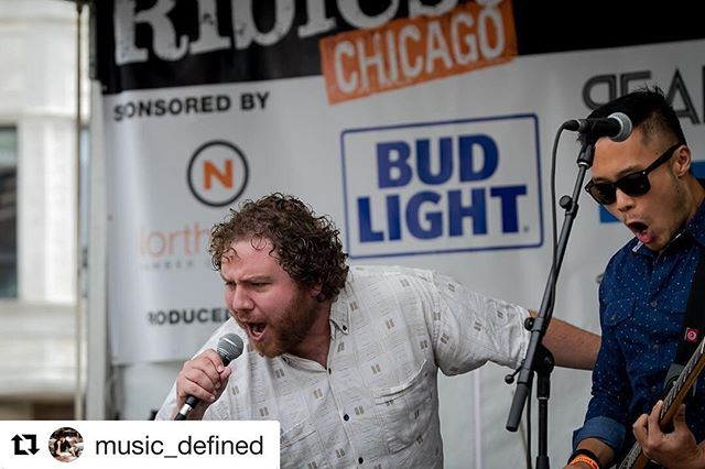 #Repost @music_defined with @repostapp ・・・ Posting some photos of @hibermusic 's set earlier today @ribfestchicago Click link in bio for more! #chicago #livemusic #concertphotography #teamcanon #livemusicphotography #hiber
