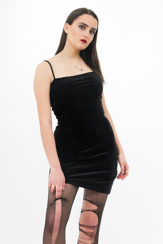 On Emmanuelle: Forever 21 dress, Geox shoes