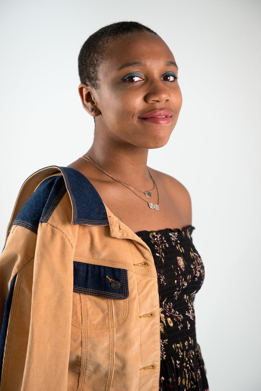 On Jamaica: Urban Outfitters dress, BCBG Maxazria Jeans jacket