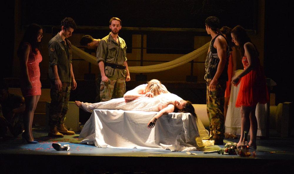 """Menelaus in """"Iphigenia 2.0"""""""