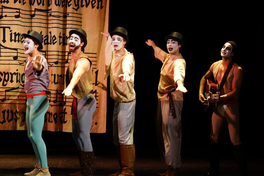 "Ensemble in ""Pippin"""