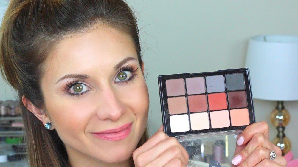 Everyday Matte Neutral Eye Makeup Made Up Mom