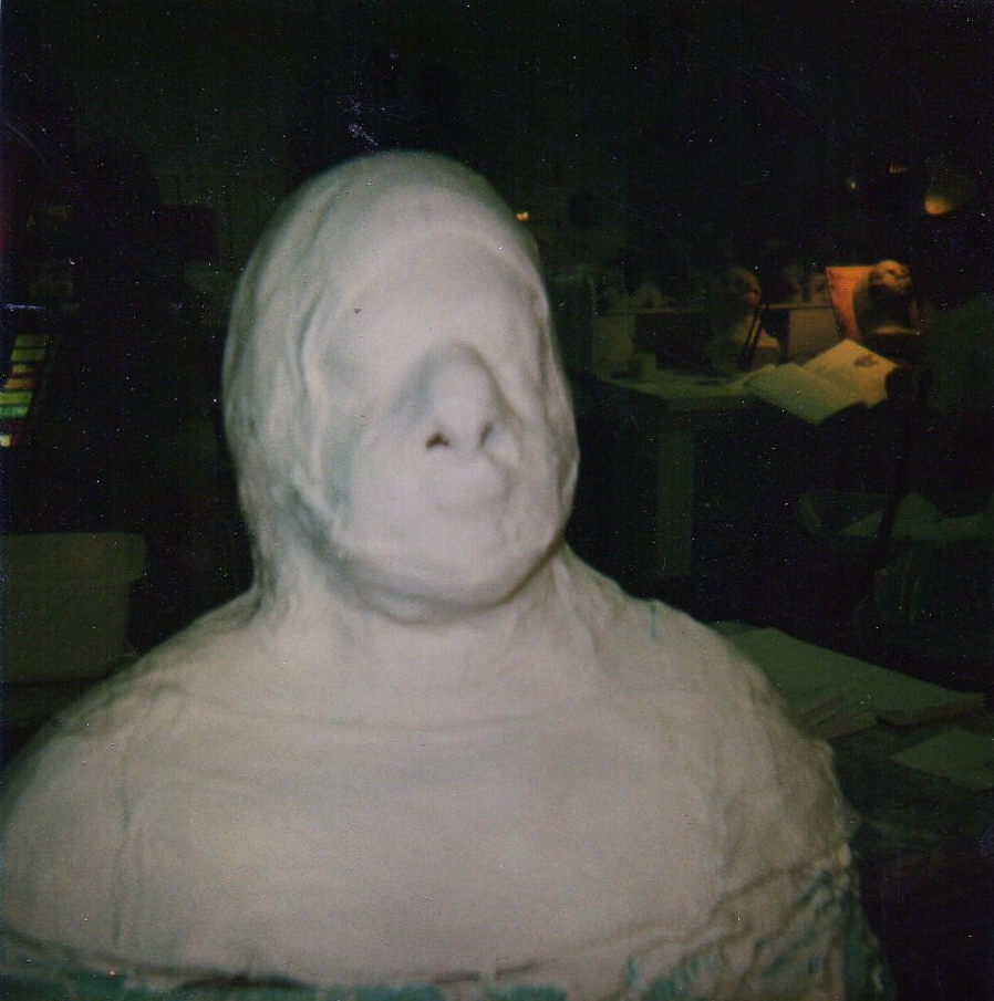 THE MOLD FOR MY PROSTHETICS