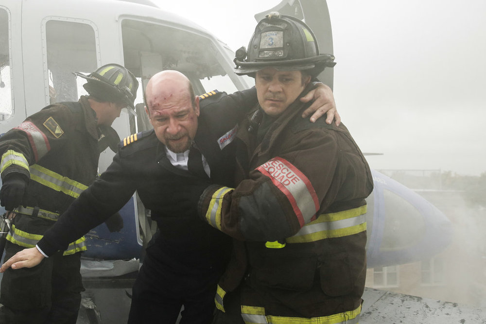 "Episode 3.08 ""Chopper"" Role: Pilot (Frank) Photo Credit: Elizabeth Morris/NBC 