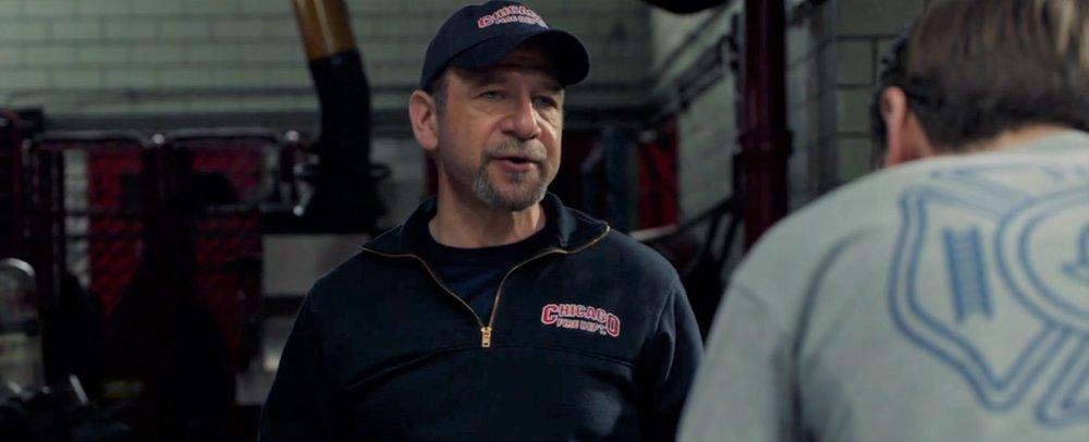"""Episode 1.01 """"Pilot"""" Role: Old Timer Firefighter"""