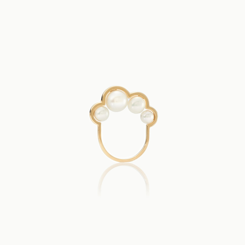 PEARL CLOUD RING
