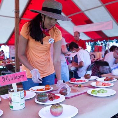 Tomato Fest in June