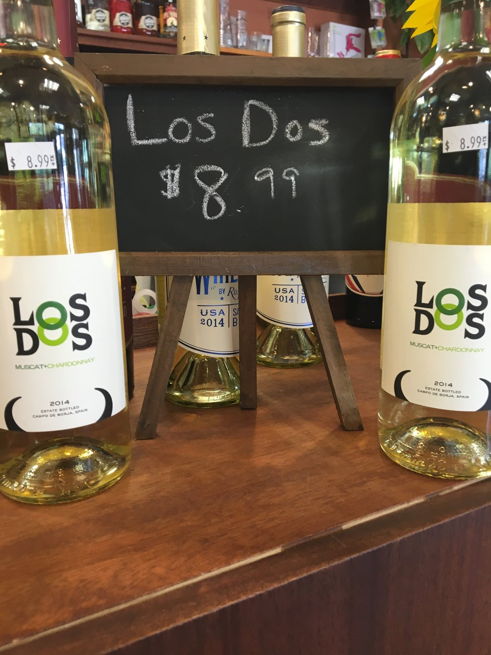 Los Dos Muscat/Chard $8.99