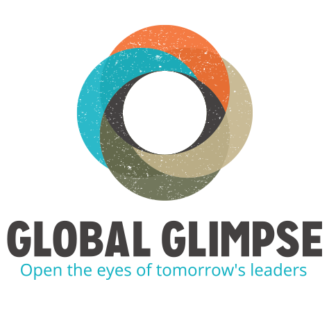 Global Glimpse is a non-profit organization that partners with a diversity of high performing high schools to provide a two-year leadership, civic engagement, and college preparatory program centered on a summer immersion experience in the developing world.