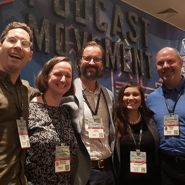 Just one more big thank you for last week's panel discussion for nonprofits using podcasts to share the facts! Big shout out to @brookingsinst for pulling together this group. It was wonderful to share the stage with @smithsonian (sidedoor podcast), @wfpusa (hacking hunger) and @pewenvironment (after the fact). #podcastmovement @podcastmovement #panel #nonprofitpanel #nonprofit #nonprofits #nonprofitpodcasts