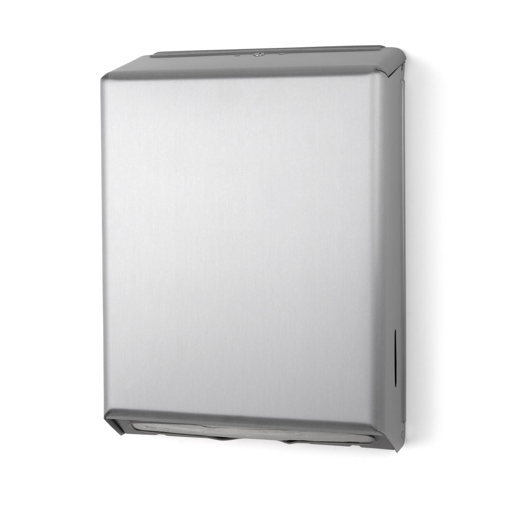 Stainless Steel C Fold Towel Dispenser.jpg