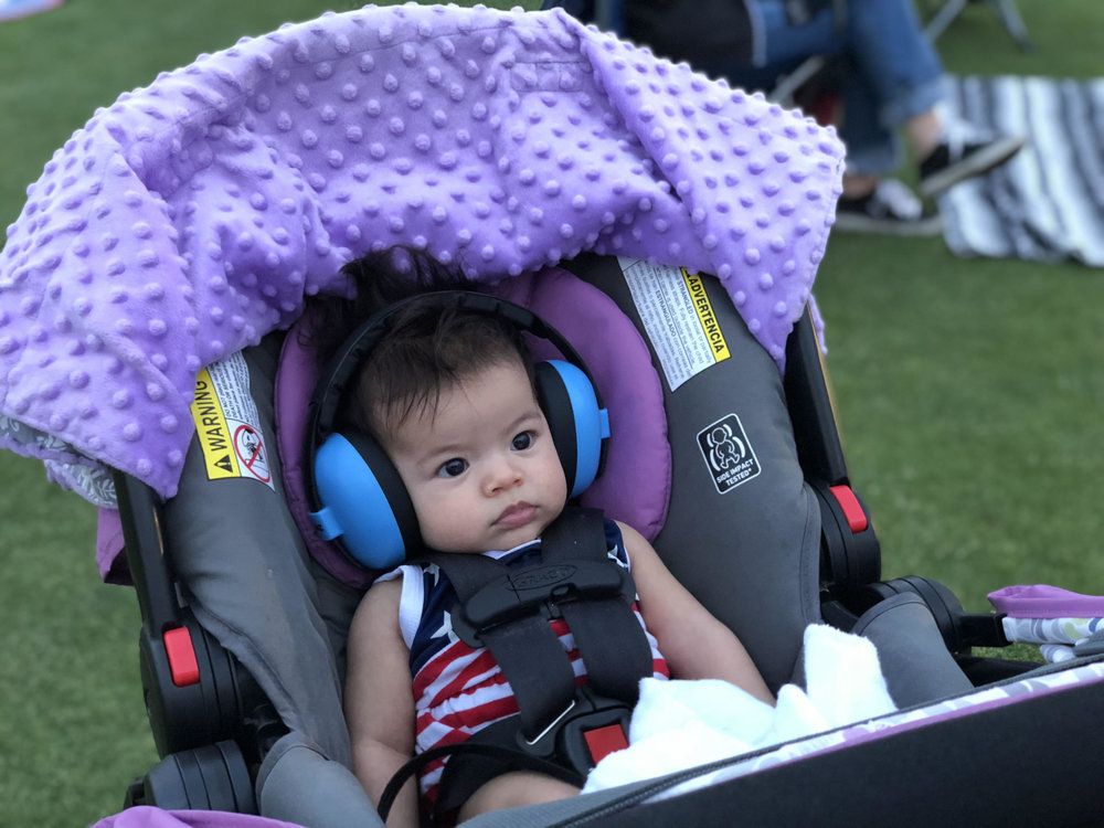 "Araya at her first ""Dadda-Kai"" concert!"