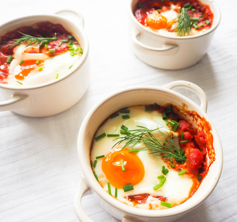Oven Baked Eggs @mimis.bowl