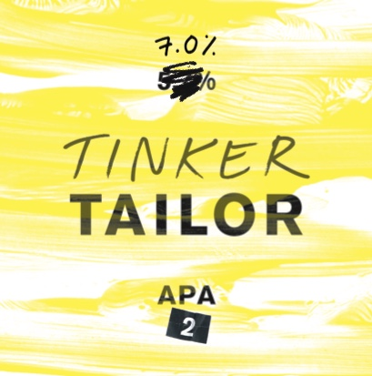 APA 2 - Looking for something a little bit unusual? Perhaps a summer citrus kind of brew?Introducing our first Tinker APA. We took our classic APA and, well, tinkered with it. A full-bodied, opaque beer with buckets of character.We added wheat. And we've gone a bit crazy with the hops. Combined with heaps of flavour reminiscent of stonefruits, you're really going to love this one. Our brewer's current favourite!Try it with a spicy Thai curry to get your tastebuds really going.7.0%