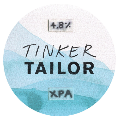 Tinker Tailor XPA craft beer label