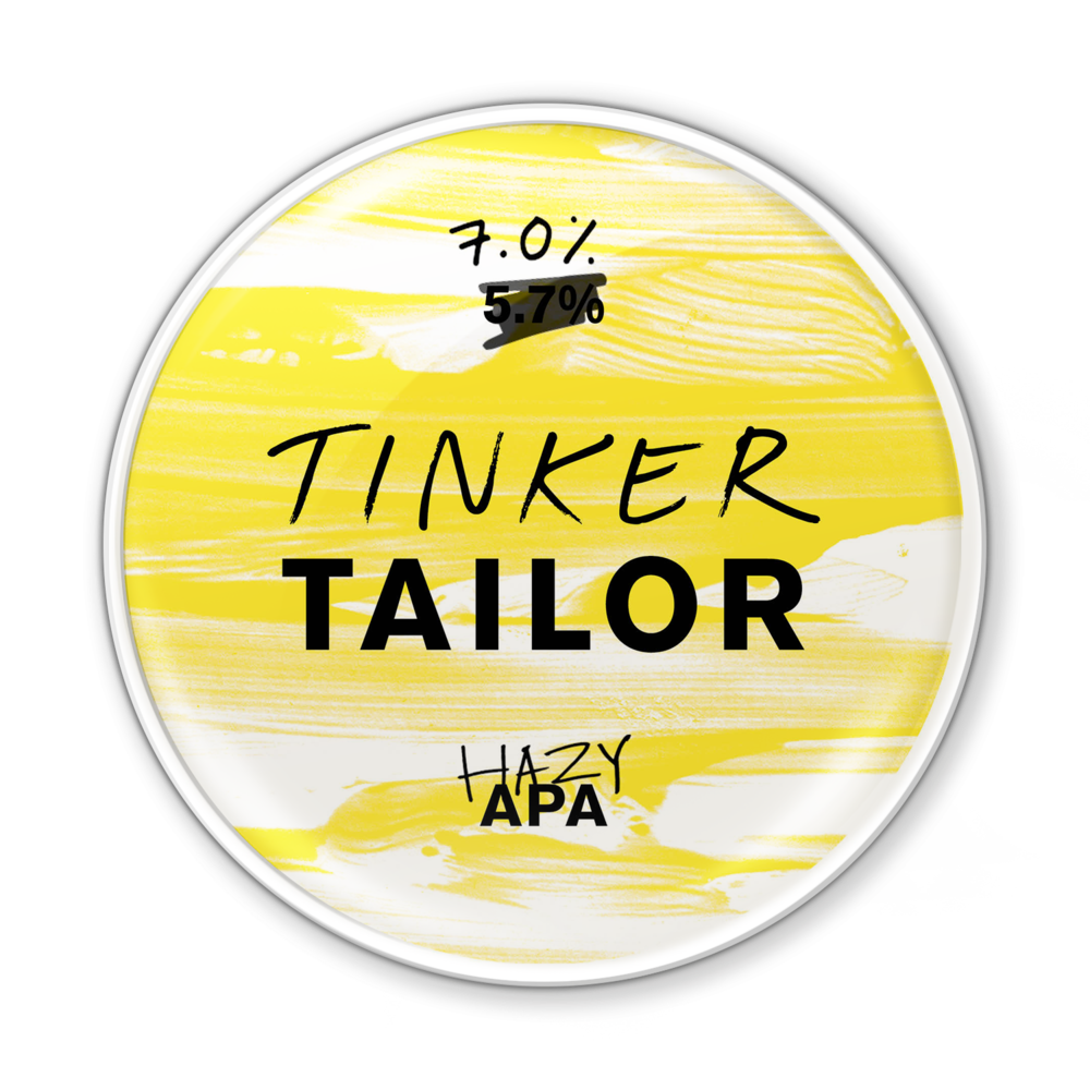 Hazy APA - Looking for something a little bit unusual? Introducing Hazy APA. We took our classic APA and, well, tinkered with it. A full-bodied, opaque beer with buckets of character.We added wheat. And we've gone a bit crazy with the hops. Combined with heaps of flavour reminiscent of stonefruits, you're really going to love this one.The beer formerly known as APA 2!Try it with a spicy Thai curry to get your tastebuds really going.7.0%