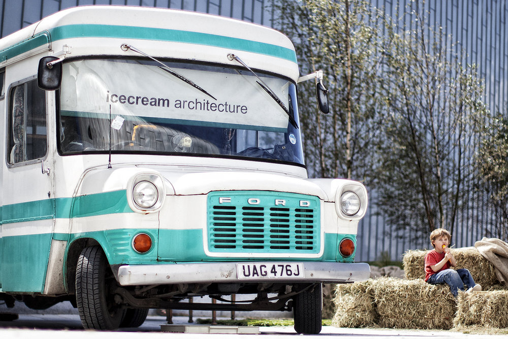 Icecream + architecture? Yes!