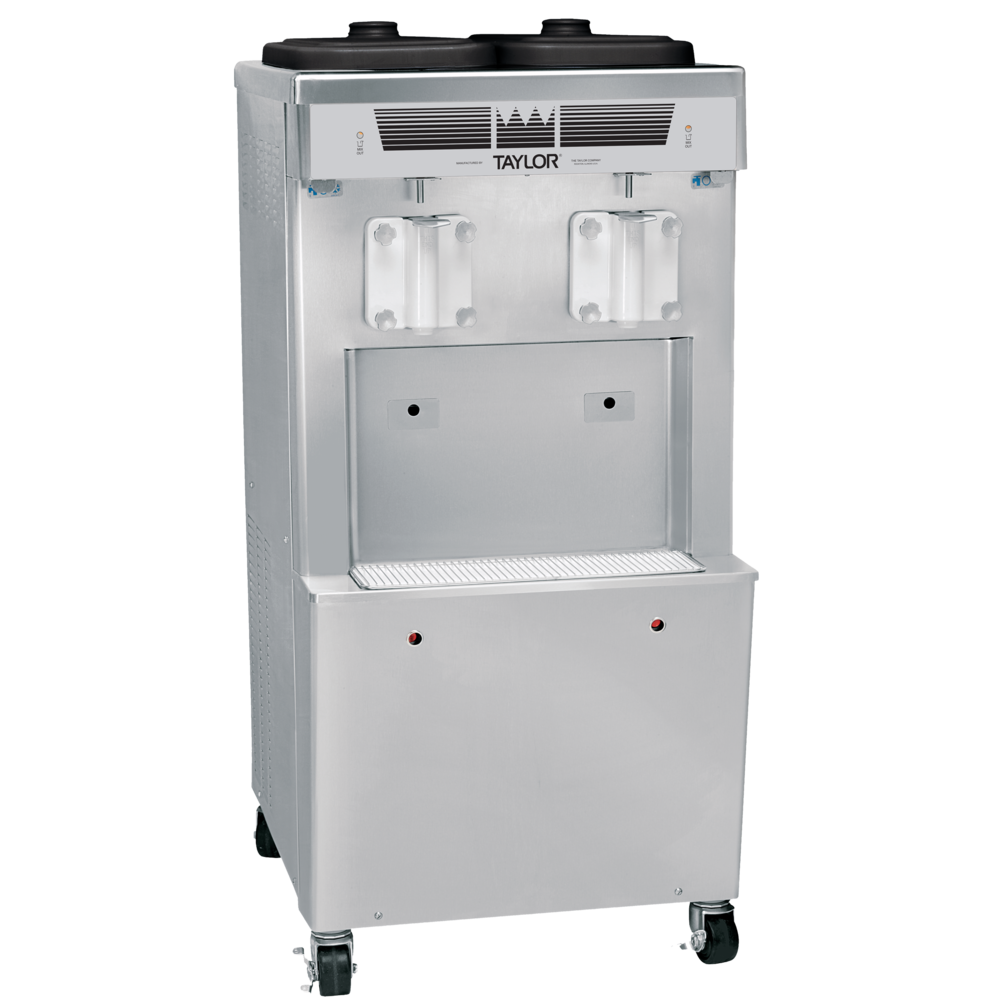 Model 359   Thick Shake Freezer  Serve a wide variety of frozen desserts, like thick shakes, with the assurance of safe temperatures for dairy products. Direct draw two flavors, or blend in flavorings for more variety.  KEY SPECIFICATIONS:   Finished Products : Shakes, Smoothies   Installation : Floor   Number of Flavors : 2   Freezing Cylinder QTY : 2   Freezing Cylinder Size (qt/l) : 7/6.6