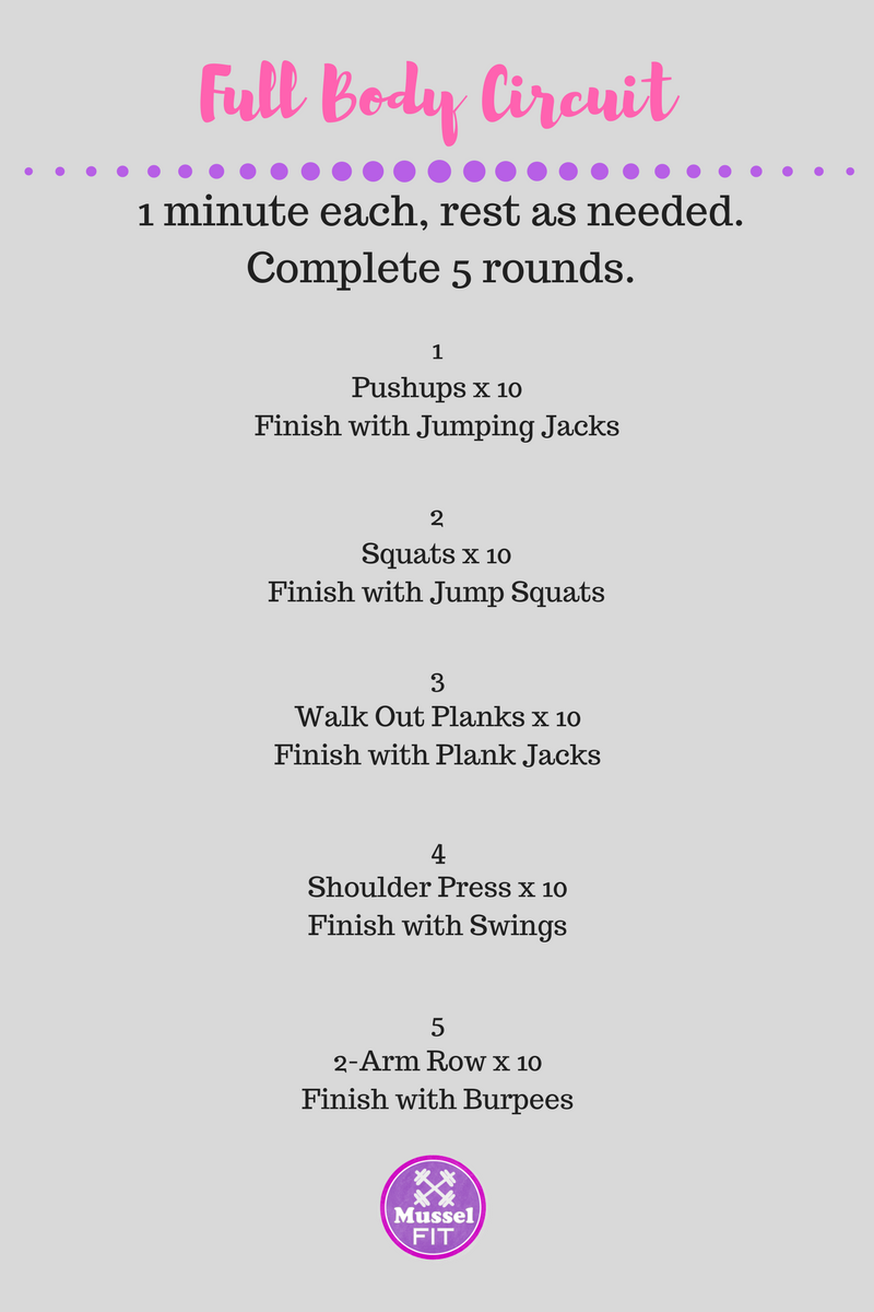 25 Minute Total Body Dumbbell Workout