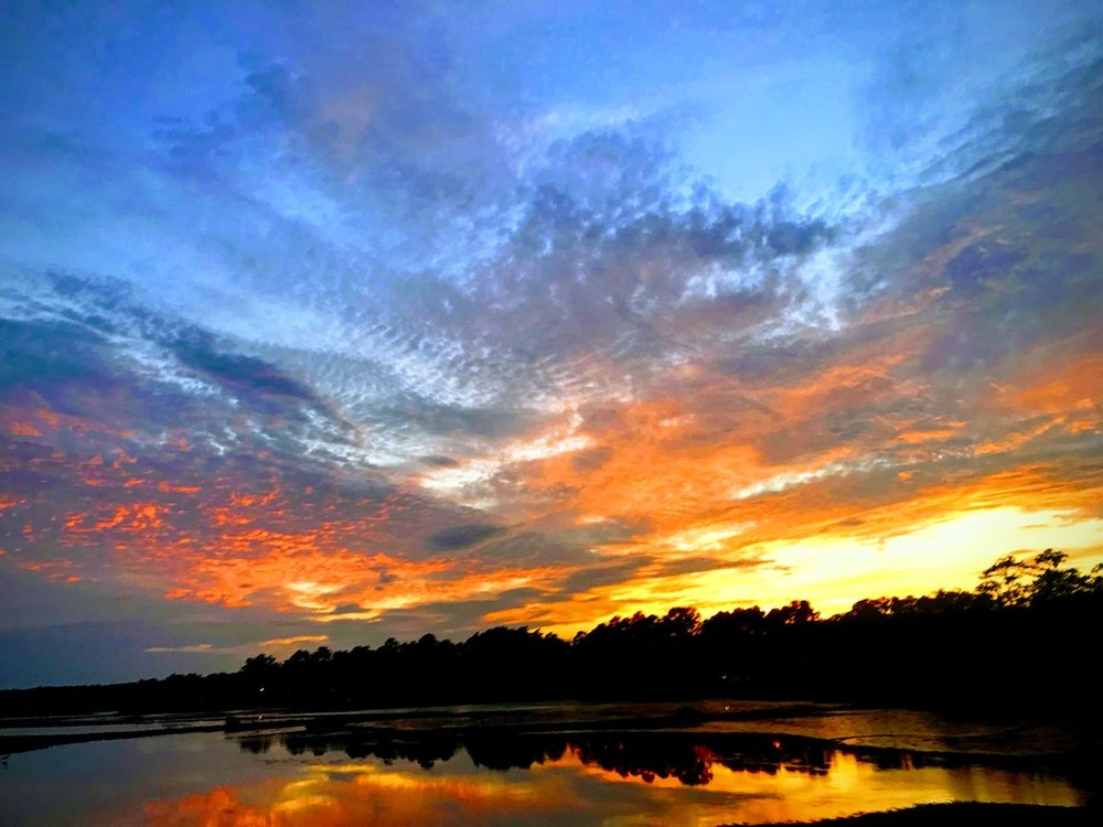 Sunset over Calabash