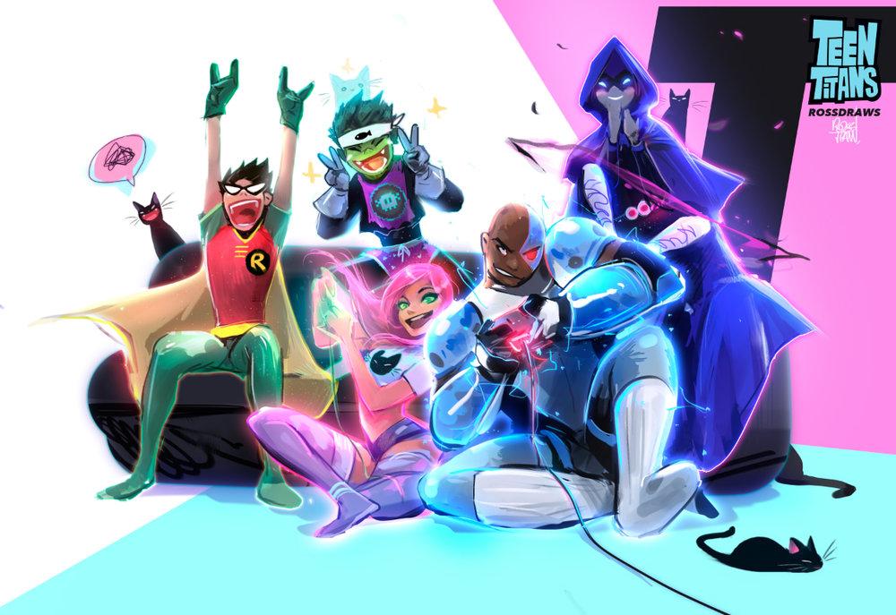 Copy of Teen Titans