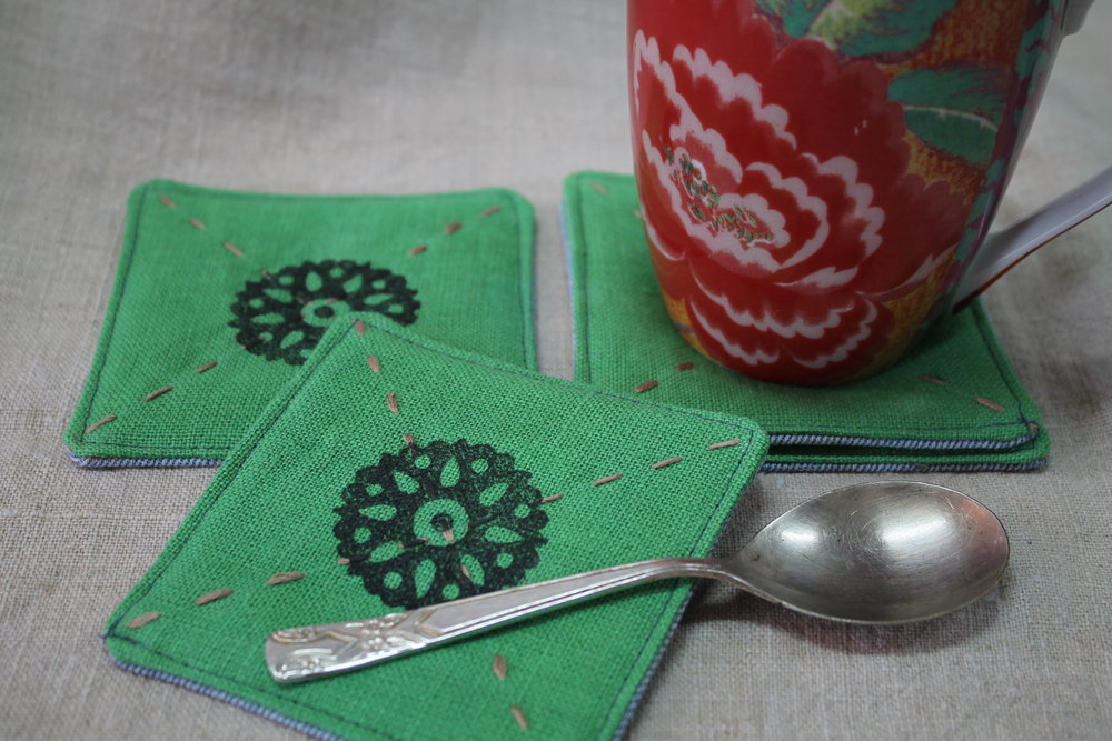 coasters hemp green pic4.JPG