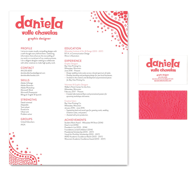 Personal Brand Identity Daniela Valle Chavelas