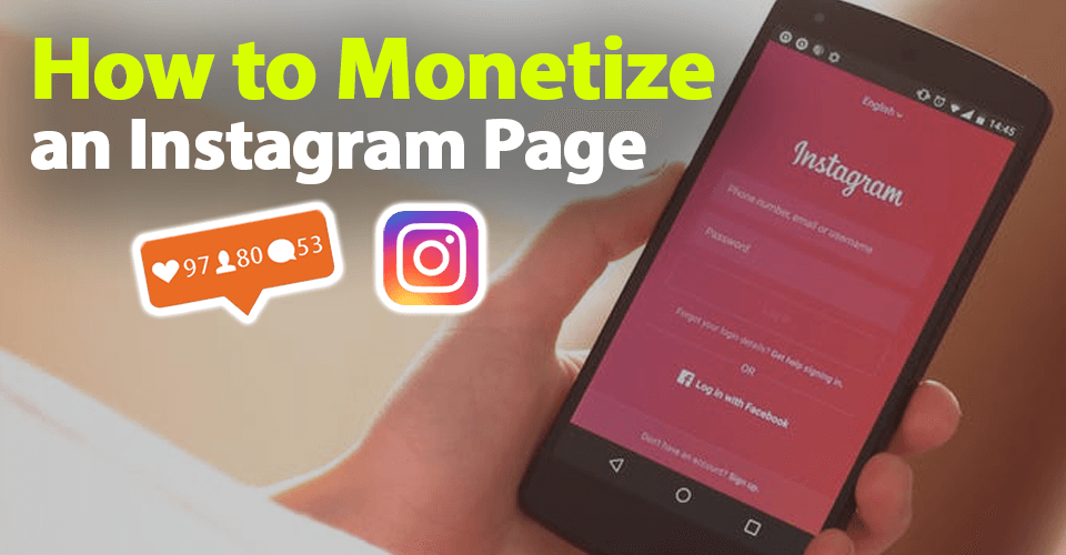 How to monetize an instagram page