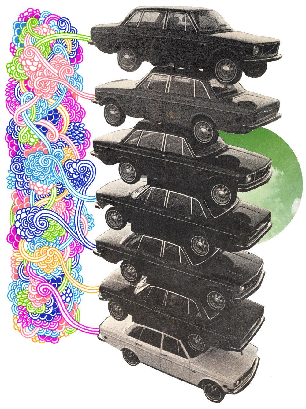 Car Pile