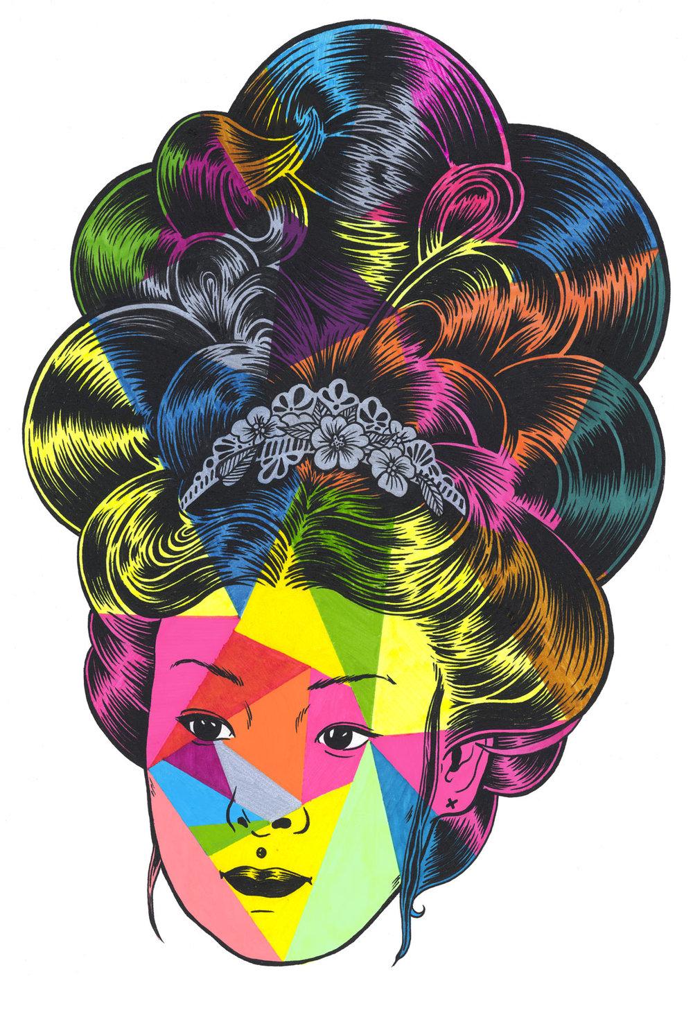 Vinyl Hair