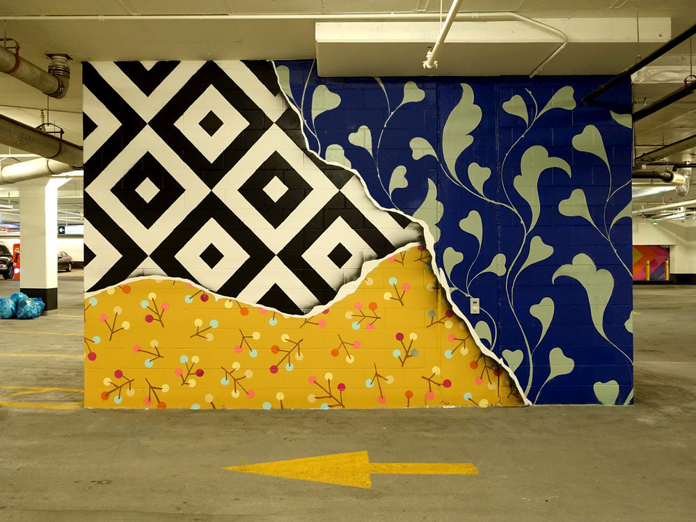 Parkade Mural