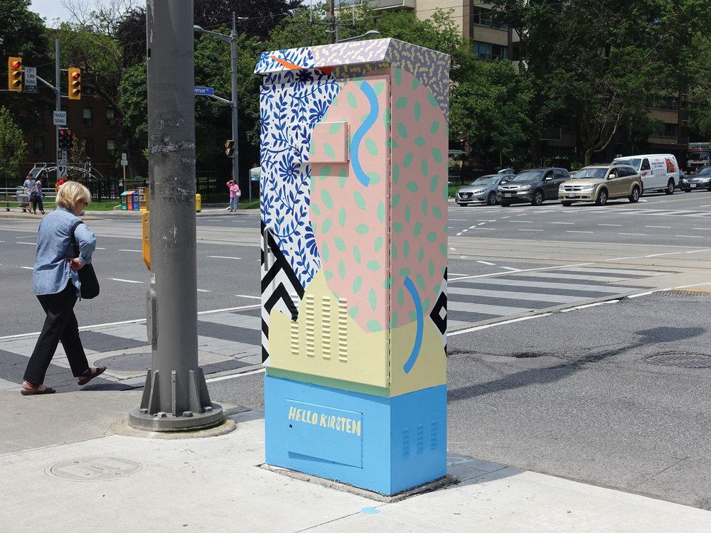 Traffic Box Mural