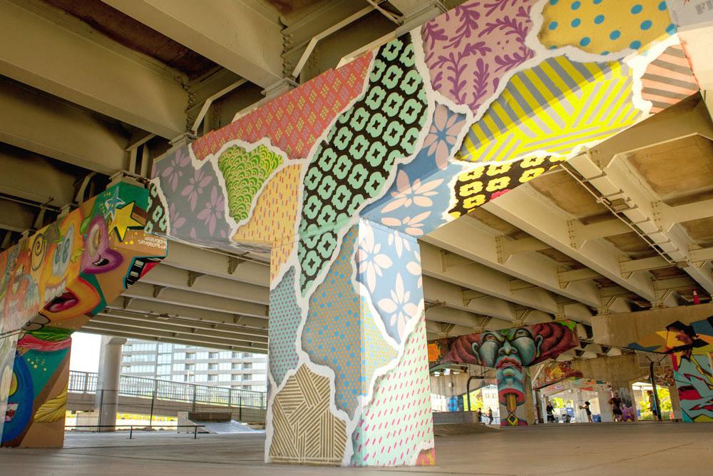 Underpass Park Mural
