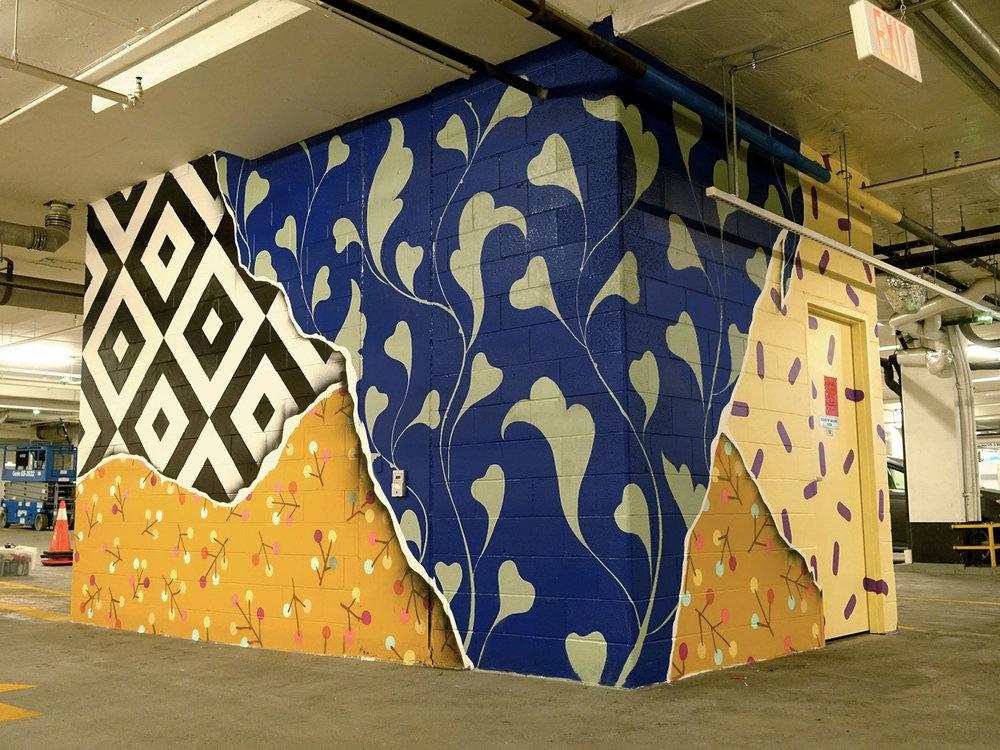 Madisson Parkade Mural