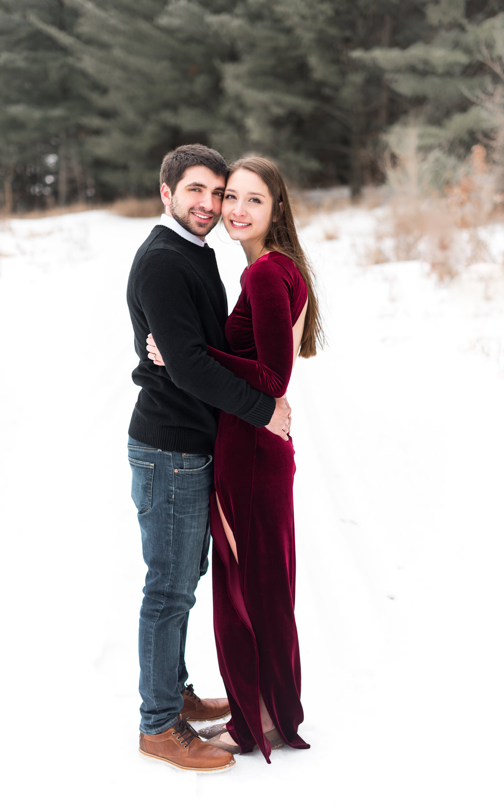 Mike + Amber  | Engagement Photos in Eagan, Mn
